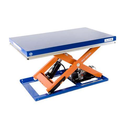 used scissor lift table static scissor lift table 1000kg tl1000 mobile scissor