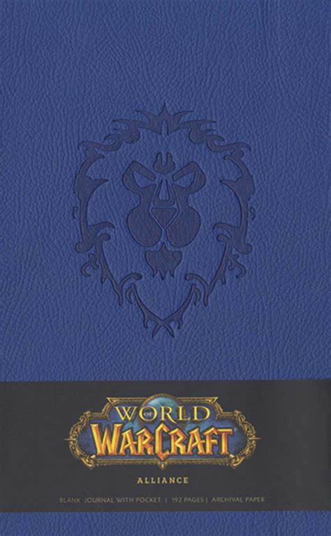 libro hearthstone journal insights journals world of warcraft alliance hardcover blank journal book by blizzard entertainment official