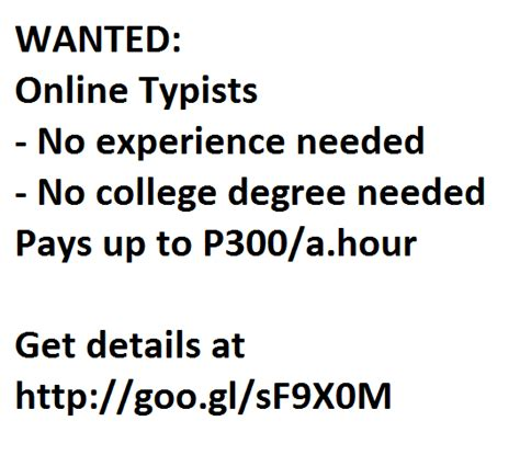 Resume Type Words Per Minute by Typing Wanted From Laguna Calamba Adpost
