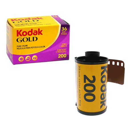 koak gold kodak gold 200asa 35mm colour print film 135 36 exposure