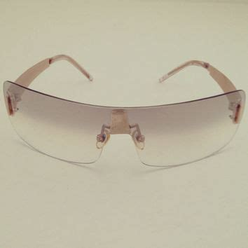 lightly tinted non prescription glasses new womens vintage 90s wrap around from outergrey outergrey