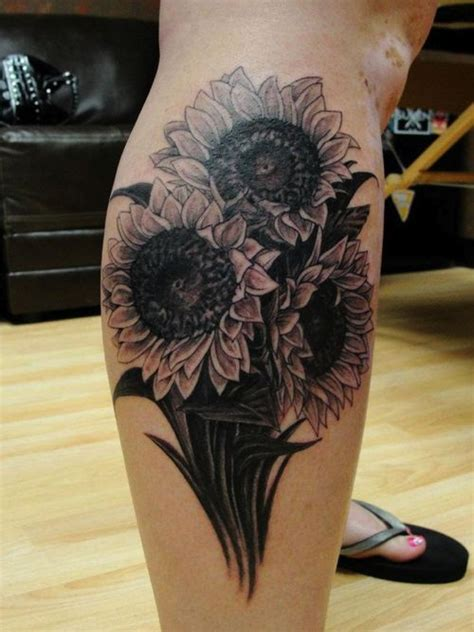 black tide tattoo 17 best images about sunflower on on