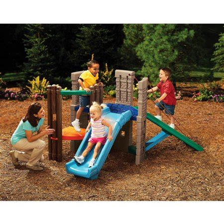 tike swing and slide tikes seek explore expedition c walmart