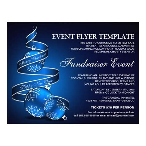 fundraiser event event flyers and flyer template on pinterest