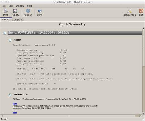 qt tutorial point imosflm tutorial