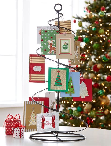 christmas card display fresh ideas for holiday card displays container stories
