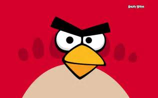 red angry birds wallpaper 28211603 fanpop