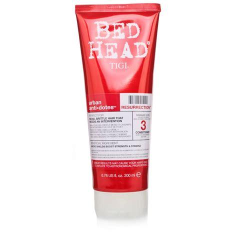 bed head urban dictionary tigi bed head urban antidotes resurrection shoo
