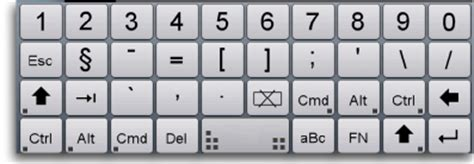 keyboard layout vnc vnc pocket office pro universal features page