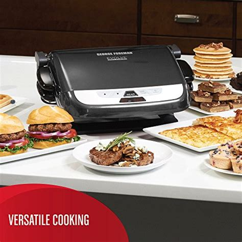 George Foreman Countertop Grill by George Foreman Grp4842mb Countertop Indoor Electric Grill