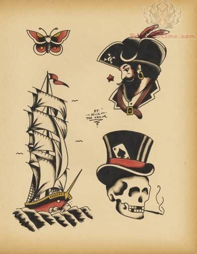 old school ship tattoo designs school images designs