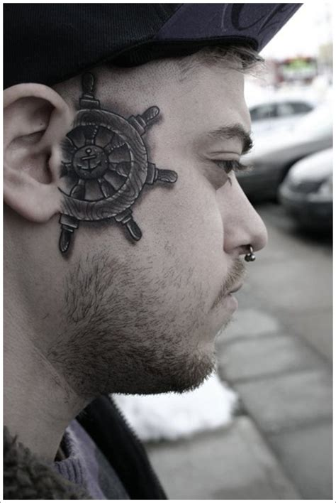 small face tattoos for men small ideas for tribal tyga