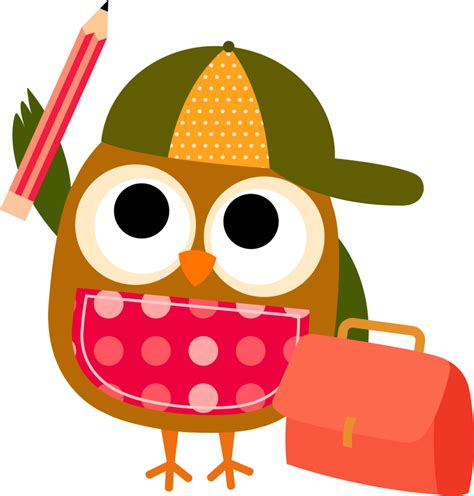 clipart foto best smart owl clip 18314 clipartion