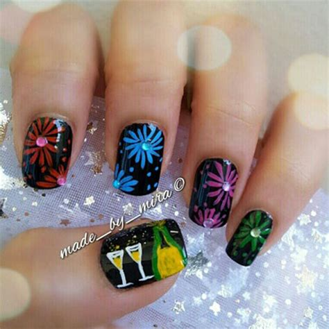 nail designs for new years happy new year nail designs ideas 2014 2015 girlshue
