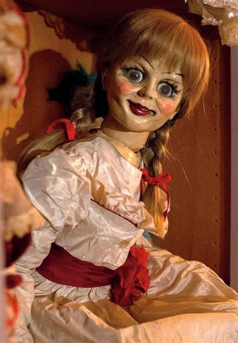 creepiest dolls from horror movies that will scare you new horror movie annabelle new scary doll photo released