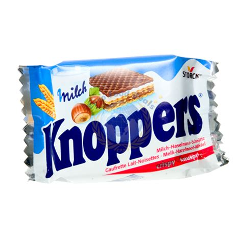 Knoppers Wafer storck knoppers crispy wafers 25g food deals