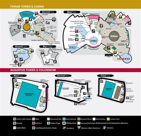caesars windsor floor plan vendor registration package 171 oapc 2015