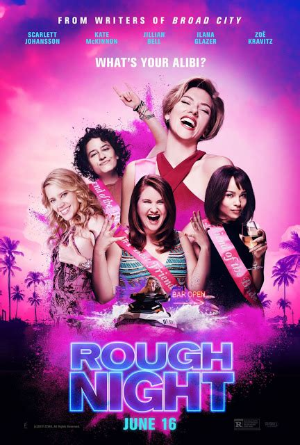 film night bus 2017 full movie movie review quot rough night quot 2017 lolo loves films