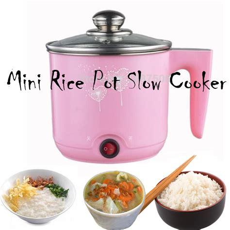 buy mini rice pot cooker stainless steel 1 2l travel
