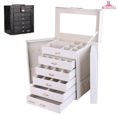 large jewelry boxes armoires aliexpress com buy large jewelry box watch case beads