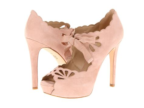 pale pink wedding shoes bitsy