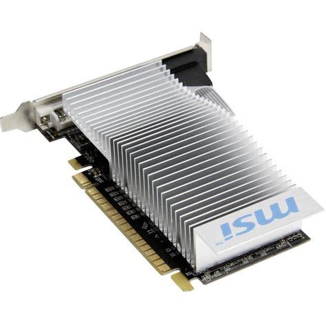 Ram Ddr3 Nvidia scheda grafica msi nvidia geforce gt610 2 gb ram ddr3 pcie