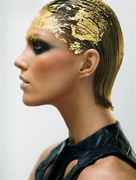 how to create a stylish black and gold 3d text effect in gold leaf hair as 2016 trend manetti com