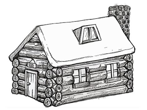 log cabin drawings n birch0710 dp log cabin