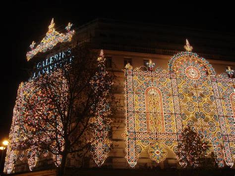 christmas lights in lafayette la galeries lafayette with christmas lights picture of