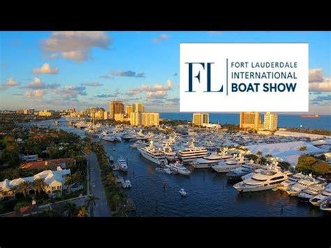 fort lauderdale boat show video flibs fort lauderdale international boat show show