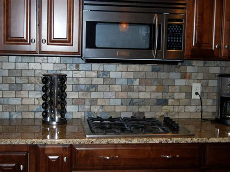 slate backsplash in kitchen tile backsplash design home design decorating and