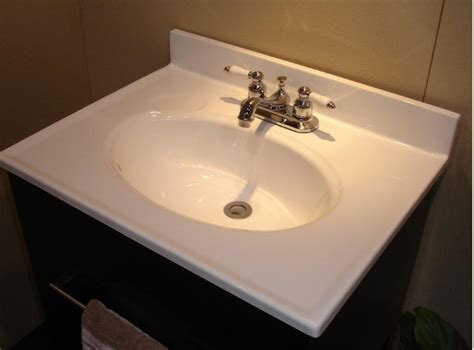 49 quot x 19 quot solid white cultured marble vanity top bargain