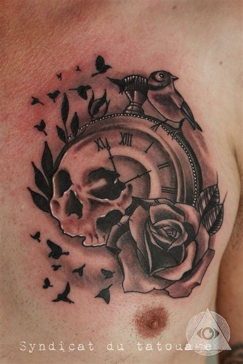 skull clock tattoo 79 best images about abi idea on the skulls