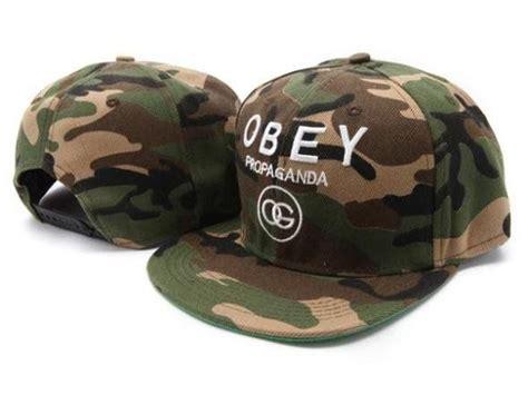 Topi Trucker Obey D 8 Ps obey caps camo chris brown hats caps snapback jason derulo