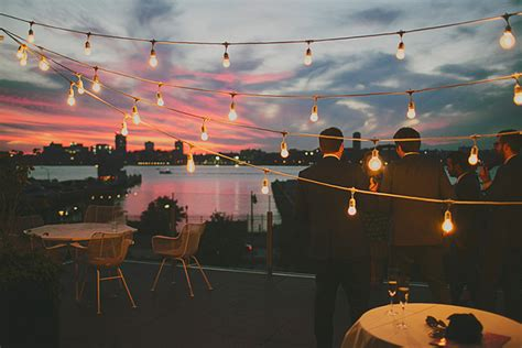 Nyc Gay Friendly Wedding Lighting Nyc Wedding Lighting String Lights Nyc