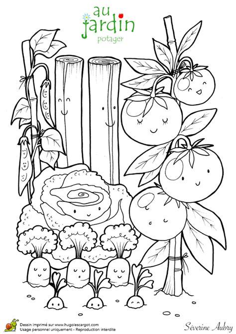 Coloriages Jardinage Au Potager Jardinage 224 L 233 Cole