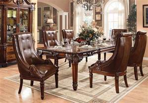 Formal Cherry Dining Room Sets by Formal Traditional Style Antique Cherry Finish Dining