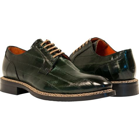 green dress shoes terry green quot verde quot eel skin laced up dress shoes