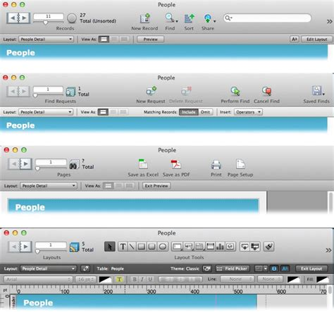 filemaker get layout field names 1 working with your database filemaker pro 13 the
