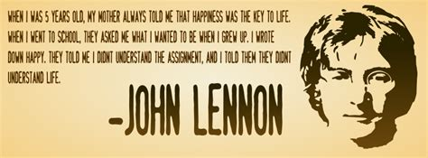 quote by john lennon when i was 5 years old my mother john lennon quotes quotesgram