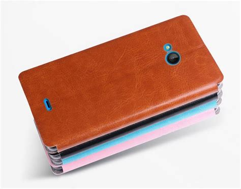 Top Flip Cover Advan I7 Diskon jual beli microsoft lumia 540 mofi soft leather flip flipcase cover hitam baru cover