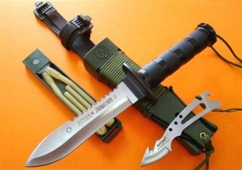 Jungle King 2 white jungle king i and black jungle king i aitor knives