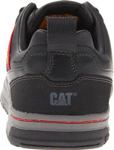 Caterpillar Low Safety Boots Black cat brode steel toe shoes by caterpillar free shipping