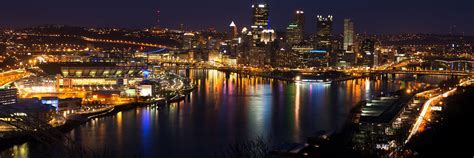 Pittsburgh Skyline Twitter Cover & Twitter Background