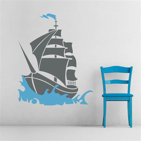 pirate ship wall stickers pirate ship wall decal