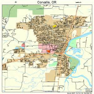 corvallis oregon map 4115800