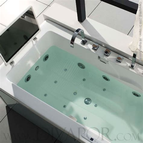 Large Whirlpool Bathtubs by Di Vapor Cosmo Whirlpool Jet Hydromassage Bath W