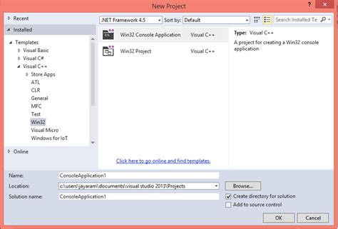design html visual studio 2013 hodentekhelp how do you create a c console application