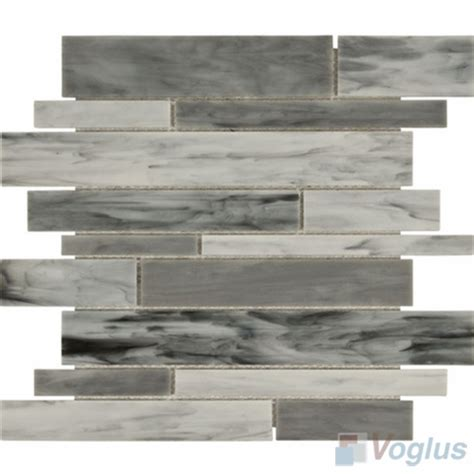 waterfall glass tile gray waterfall tiffany glass mosaic tile vg tf91 voglus