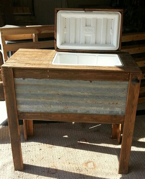 Diy Patio Cooler Stand by Rustic Cooler Stand Rustic Cooler Stand